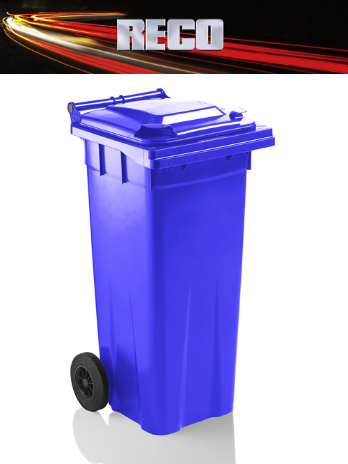 Blue 180 Litre Wheelie Bins