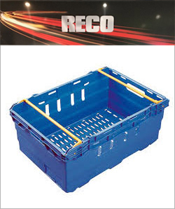 Blue Bale Arm Crates & Trays
