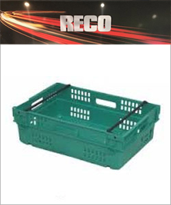 Green Bale Arm Crates