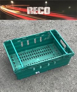 Used Green Bale Arm Crates & Trays
