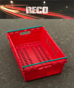 Used Red Bale Arm Trays