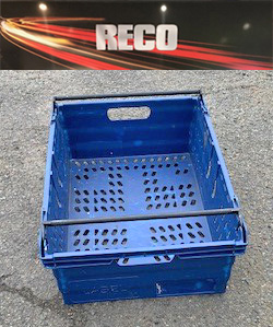 Used Blue Bale Arm Crates & Trays