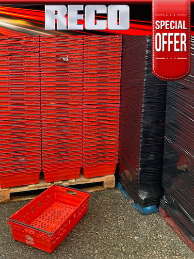Used Red Bale Arm Trays For Sale