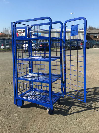 Milk Trolley Roll Cages