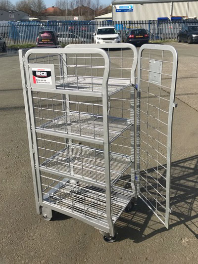 Used Milk Trolleys