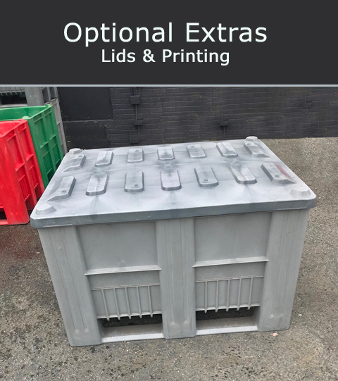 Plastic Pallets Box Lids