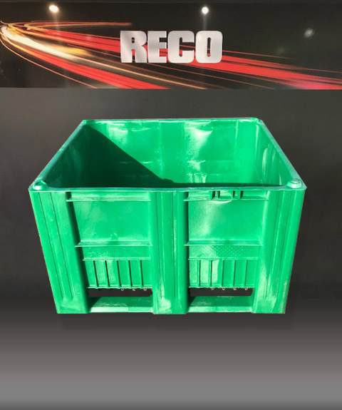 New Green Plastic Pallet Boxes