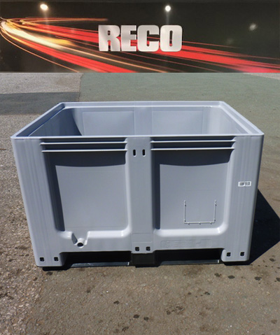 Used Once Rigid Dolav Plastic Pallet Boxes 001