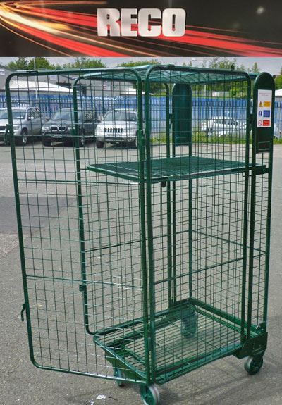 Security Roll Cages Roll Containers Roll Pallets