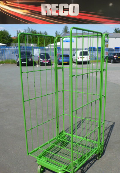 3 Sided Rod Roll Cages Roll Containers Post Pallets