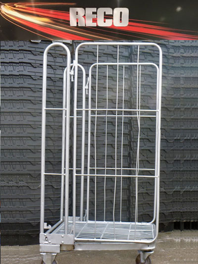 2 Sided A Frame Roll Cages Containers 1
