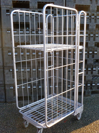 3 Sided A Frame Roll Cages Containers 3