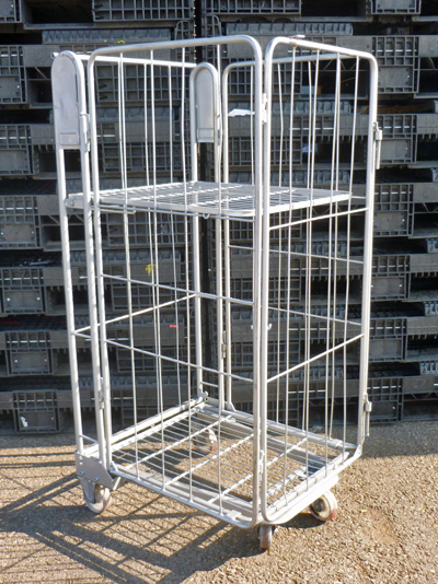 4 Sided A Frame Roll Cages Containers 5