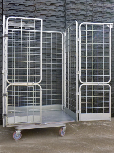 Jumbo A Frame Roll Cages Containers 8