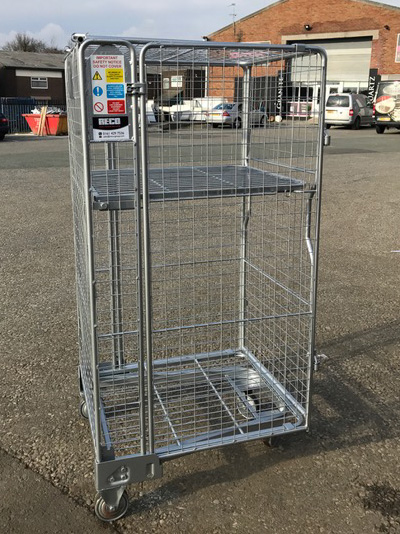 Security Roll Cages Roll Containers and Roll Pallets