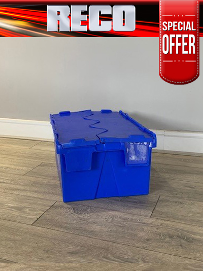 Used Blue Tote Boxes For Sale