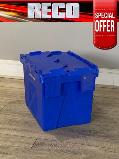 Blue Used Tote Boxes For Sale
