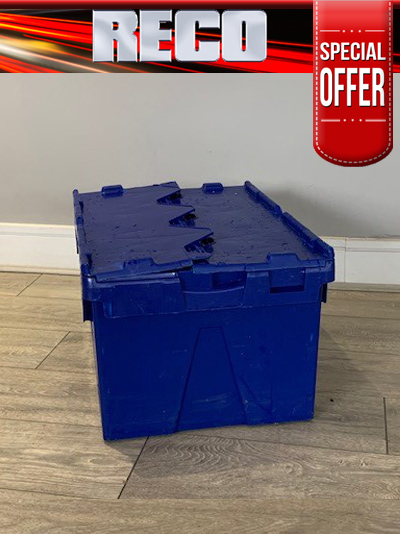 Used Blue Tote Box For Sale