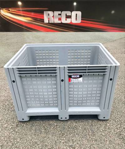 New Vented Plastic Pallet Boxes
